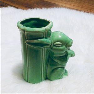 🦋2/$10 3/$15 4/$18 5/$20 Vintage 50s Bunny Vase